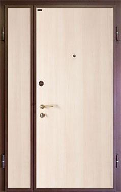 """Входная стальная дверь """"База №6"""" (двустворчатая), """"Ле-Гран"""", Московская область"""