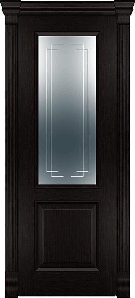 R2 межкомнатная дверь Массив Холл