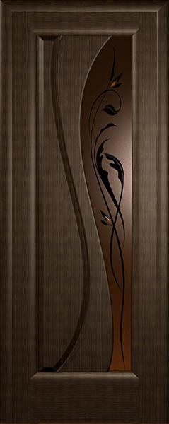 "Межкомнатная дверь ""Лада"" Массив Холл"