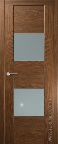 Межкомнатная дверь Вертикаль 1 Массив Холл