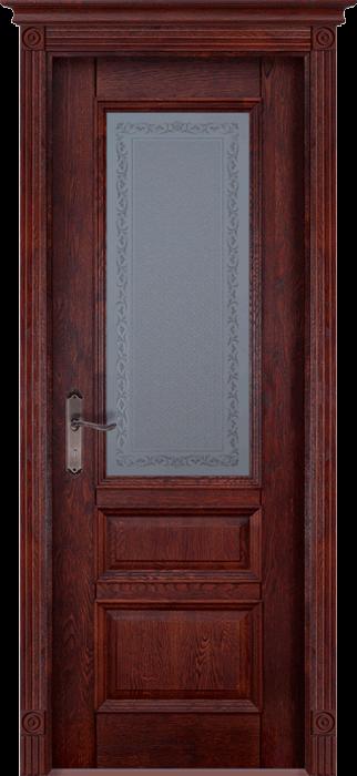 Аристократ 2 Массив дуба Межкомнатная дверь Ока