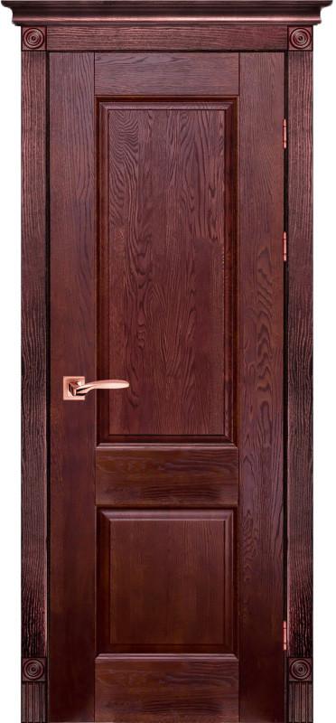 Классик 1 Массив дуба Межкомнатная дверь Ока