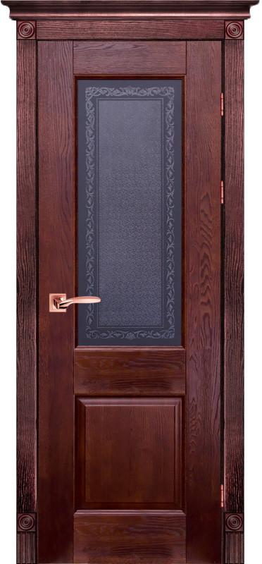 Классик 2 Массив дуба Межкомнатная дверь Ока
