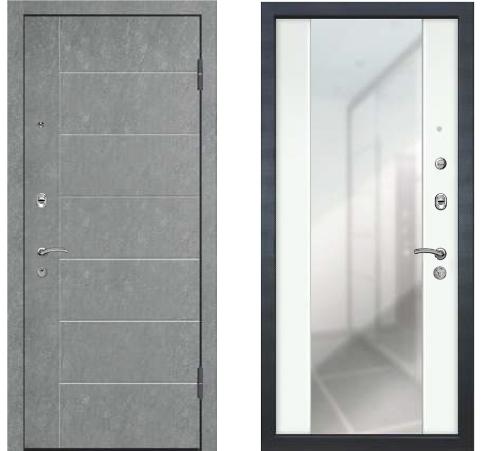 Входная дверь Турин с зеркалом база-42 Ле-Гран